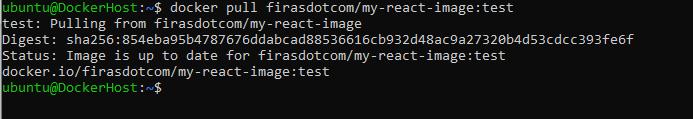 Pulling Docker image