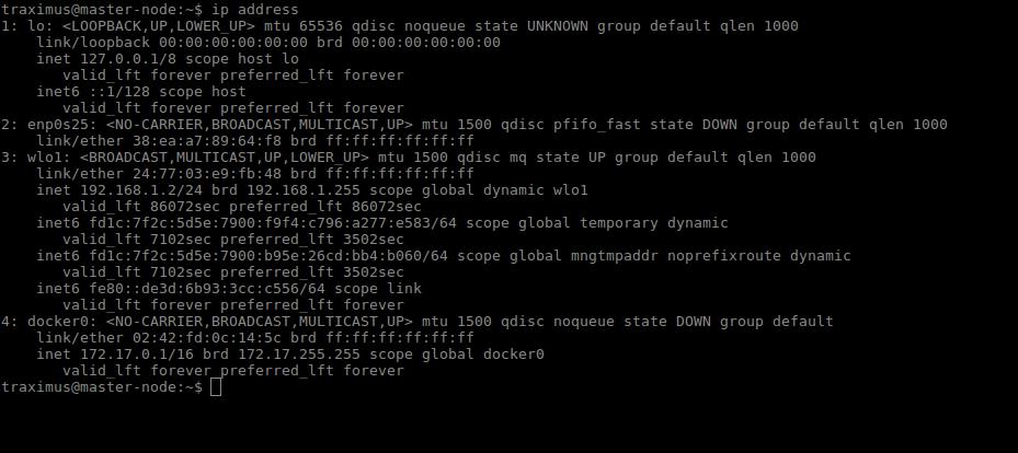Docker Networking Types: Host networking