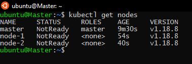 checking nodes status