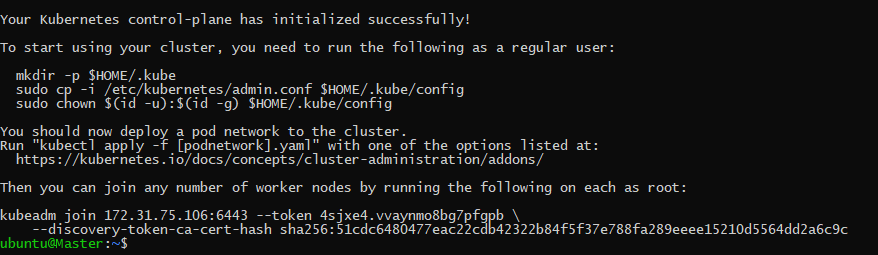 cluster initiation