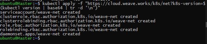 installing weavenet